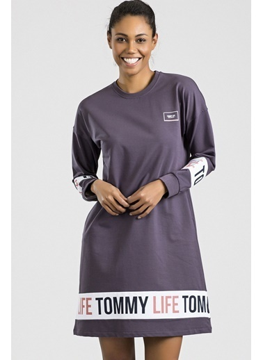 Tommy Life Elbise Mor